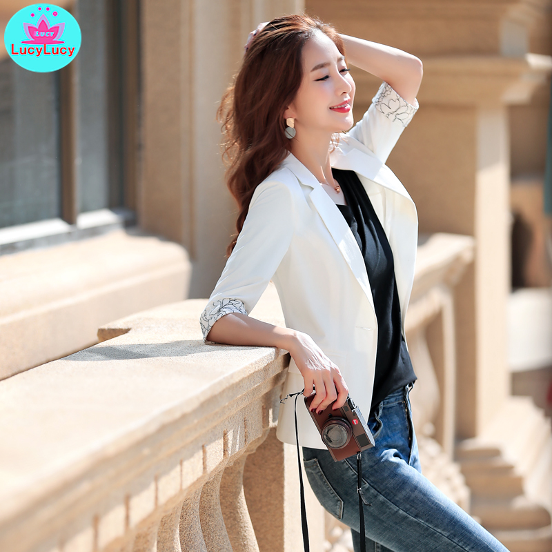 2019 New Spring And Summer Ladies Fashion Temperament Small Fragrance Overalls Professional Wear Women's Casual Small Suit