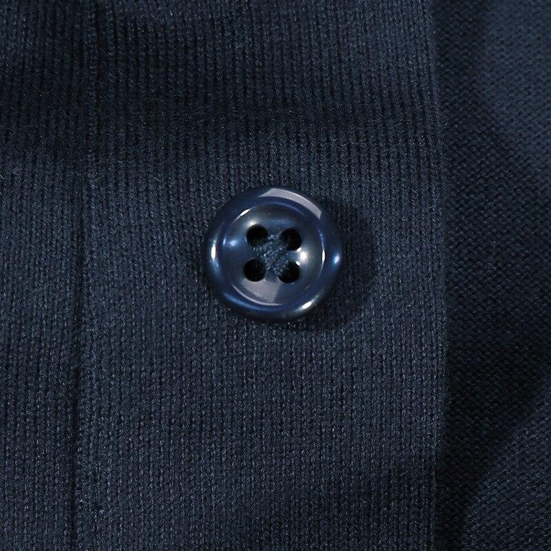 c94ba2c82eb5 весенняя рубашка поло мужчин длинные рукава Хлопок Дышащие Модные Тонкий  полосатый поло мужские рубашки брендовая одежда размер M-2XL | Поло с  Алиэкспресс ...