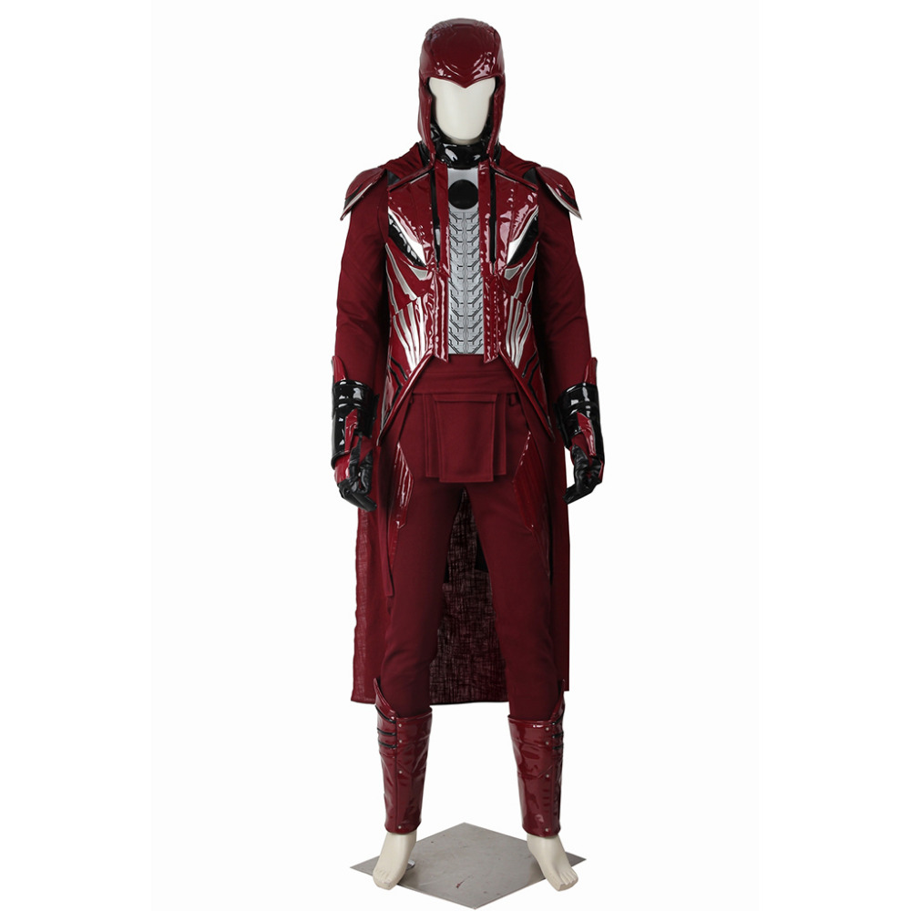 X-Men Apocalypse Magneto Erik Lensherr Cosplay Costume Outfit Adult Men's Halloween Carnival Cosplay Costume