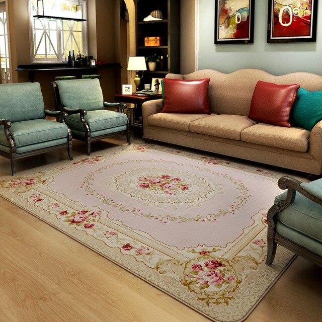 130X190 CM pastorale tapis pour salon moderne chambre chevet tapis et tapis canapé Table basse zone tapis maison tapis de sol