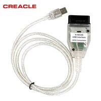 CREACLE MIGLIORE FT232RQ Cavi PCB Per B-M-W INPA K DCAN K + PUÒ OBD2 USB INPA Compatibile Con FT232RQ Migliore di FT232RL Circuito Integrato