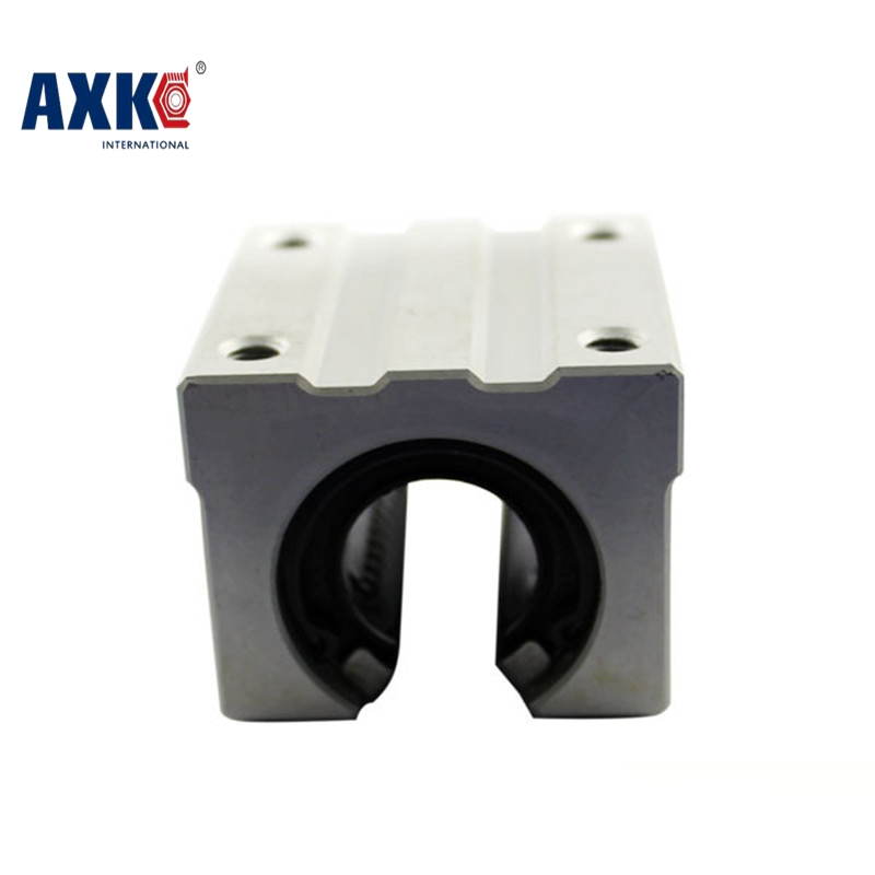 AXK SBR25UU Linear Bearing Pillow Block 25mm Open Linear Bearing Slide Block CNC Router Parts SBR25UU free shipping sc16vuu sc16v scv16uu scv16 16mm linear bearing block diy linear slide bearing units cnc router