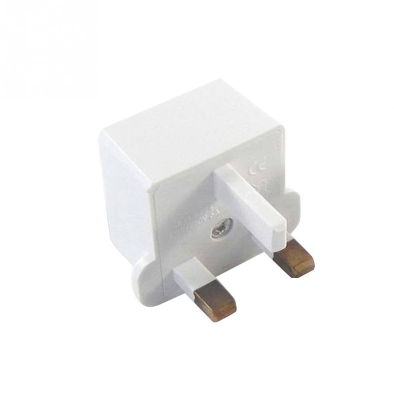 5Pcs Universal EU UK to US AC Power Adapter Converter Wall Charger Plug Socket White