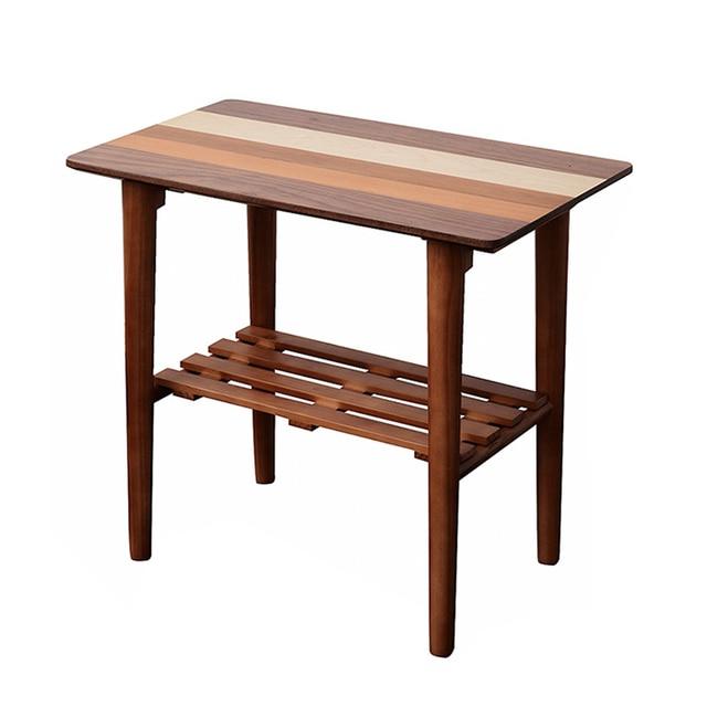 Sofá moderno mesa lateral Muebles de salón pedestal final acento ...