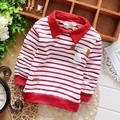 2016 Spring Autumn Casual Spring Autumn Casual Baby Children Clothing Boys Striped Long Sleeve T-shirt Tops Y1034