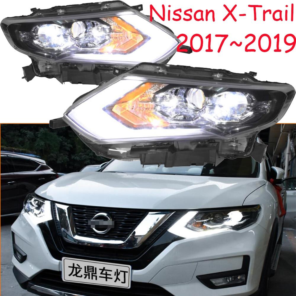 LED 2017 2019 Car Styling X Trail Headlight Micra Titan versa stanza sentra Tsuru stagea Rogue