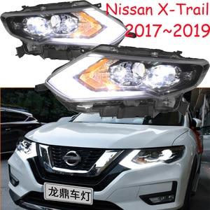 Image 1 - LED,2017~2019,Car Styling,X Trail Headlight,Micra,Titan,versa,stanza,sentra,Tsuru,stagea,Rogue;X Trail head lamp,Rogue,X Trail