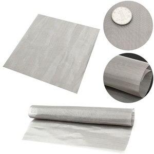 """Image 1 - 100 Mesh filtracja drut tkany stal materiał stalowy ekran filtr wody arkusz 11.8 """"do filtrowania oleju miód Mayitr narzędzia do domu"""