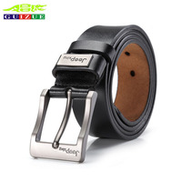 2017 New Fashion Casual Mens Belts 100 Cow Genuine Leather Waist Strap Luxury Belt For Male