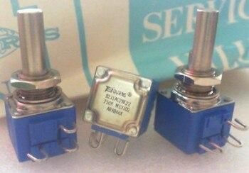 ORIGINAL America precision potentiometer 82J1AC28E22 250K single 3 foot shaft 22mm switch
