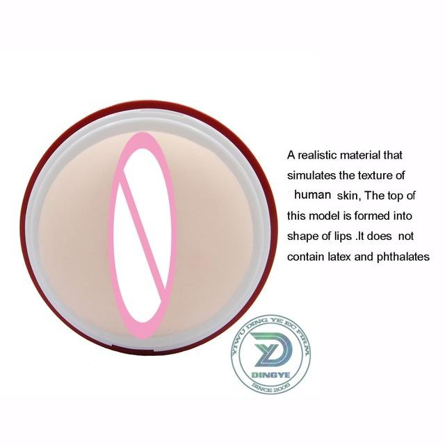 masturbador masculino juguete sexual de silicona estroboscópico