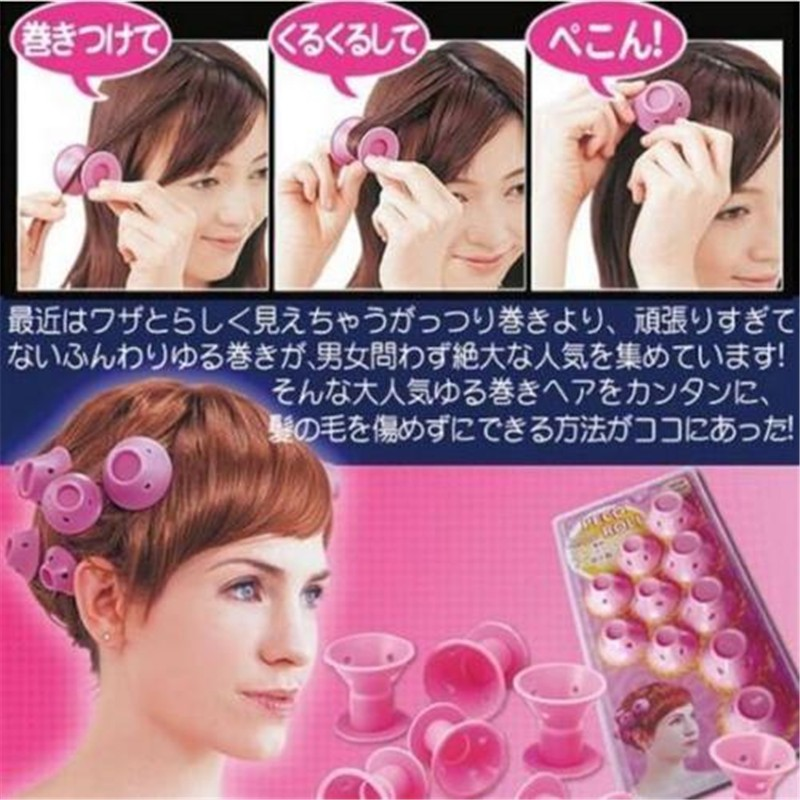 CB118-new-Ultra-Soft-Soft-Hair-Care-Peco-Roll-10-PCS-Hair-Rollers-Curler-DIY-Tools