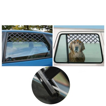 Pet Dog Wagon Window Fan Protection Net Safety Lattice Telescopic Fence Adjustment Range Is Suitable For All Kinds Of Cars 1