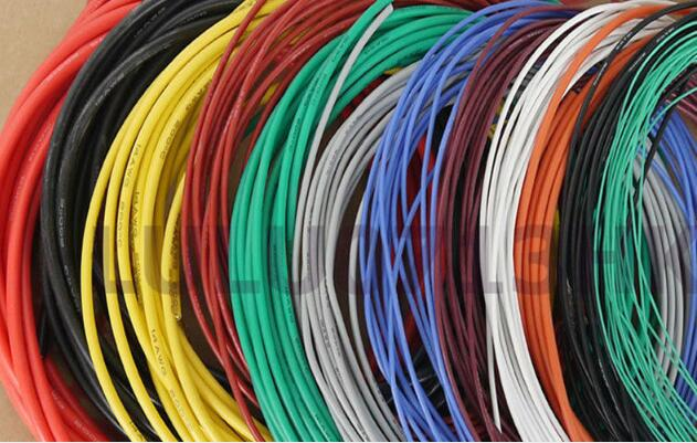Flexible Silicone Wire RC Cable 26AWG 30/0.08TS Outer Diameter 1.5mm With 10 Colors to Select vnas 10awg flexible silicone wire rc cable 10awg 1050 0 08ts outer diameter 5 5mm 5 3mm square model airplane wire