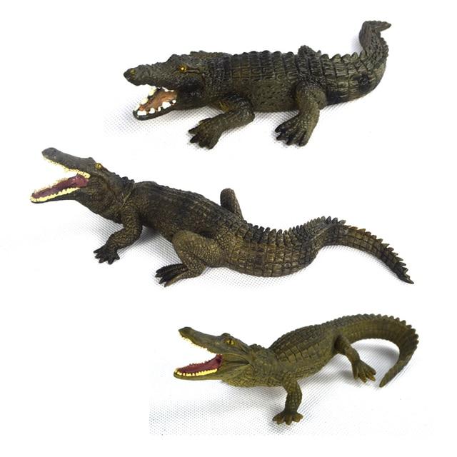 PVC Animals World Chinese Alligator Crocodile nile ...