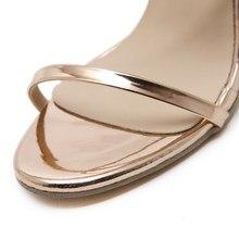 DEleventh Leisure Women sandals Summer 2018 Zipper Clear crystal heel Block Heels Shoes
