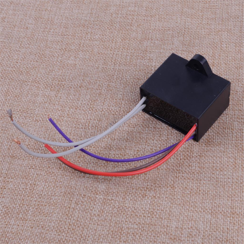 Letaosk New Black Plastic Cbb61 Capacitor 25uf 35uf 4uf 5 Wire Type Fan Control Wiring 4 Capacitors The Start And Stop Mechanisms Speeds On Many Different Types Of Ceiling Fans Motors Using These