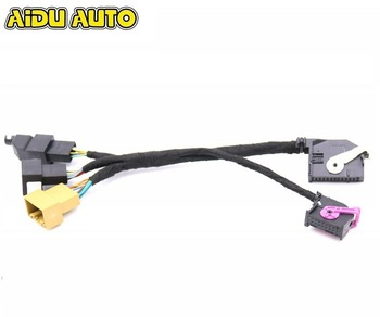 цена на FOR VW PQ CAR INSTALL MQB PDC Parking OPS System adapter Wire cable Harness for upgrade older PDC module to 1K8 / RNS to MIB