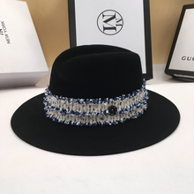 Wool Fedoras felt bowler hats joker in the fall and winter o