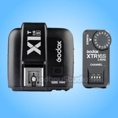 Godox X1T-S 2.4G TTL Wireless Transmitter for Sony + XTR-16S Wireless Flash Receiver стоимость