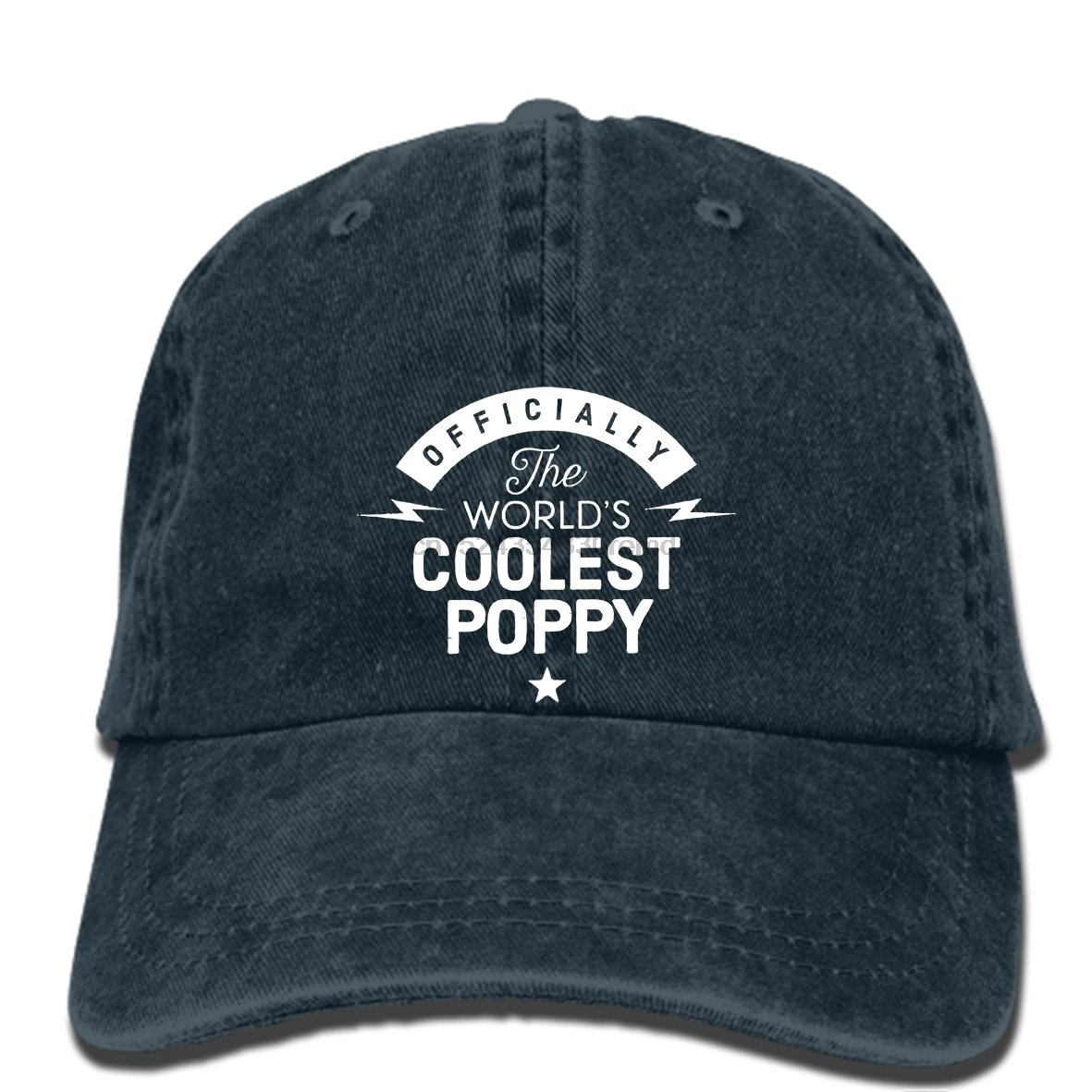 6202f3f1b11 hip hop Baseball caps Personalised Worlds Greatest Poppy Happy Birthday hat  Gift Present cap Funny Print Summer-in Baseball Caps from Apparel  Accessories on ...