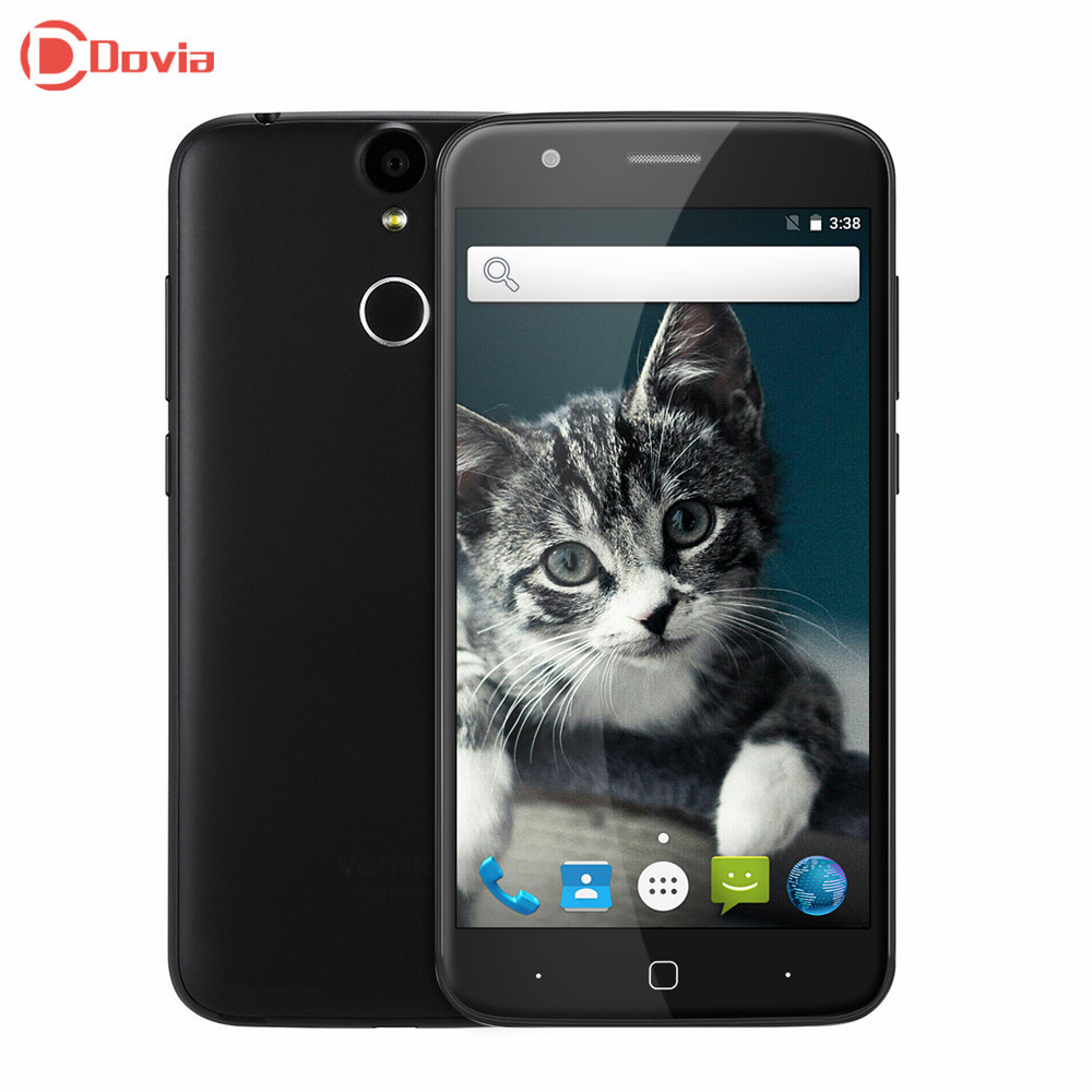Vernee Thor 4G Fingerprint ID Mobile Phone Android 6 0 MTK6753 Octa Core 3GB 16GB Cellphone