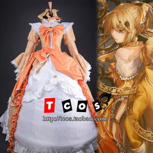 Brdwn Vocaloid women s Aku no Musume Kagamine Rin Cosplay Costume Rode Lolita  Evening Dress abef39520516