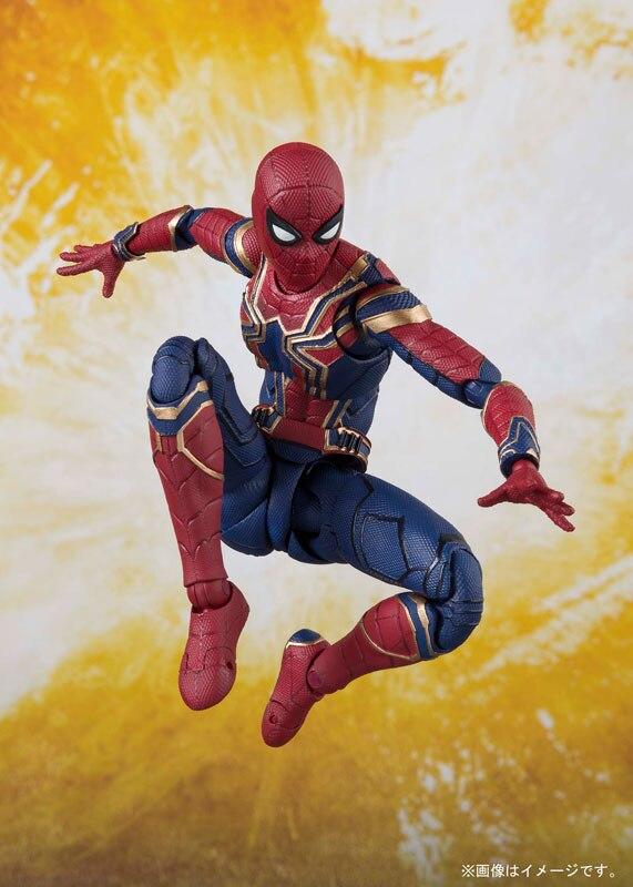 100% Originale BANDAI Tamashii Nazioni S. H. Figuarts (SHF) Action Figure Iron Spider-in Action figure e personaggi giocattolo da Giocattoli e hobby su  Gruppo 3