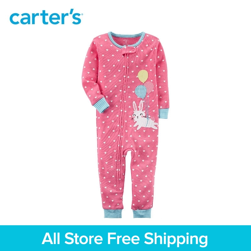714832d39025 Carter s 1 Piece baby children kids clothing Girl Spring Snug Fit ...