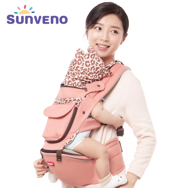 Sunveno Baby Carrier Four Seasons Multifunctional Baby Waist Stool Baby Slings for Baby 0-36M