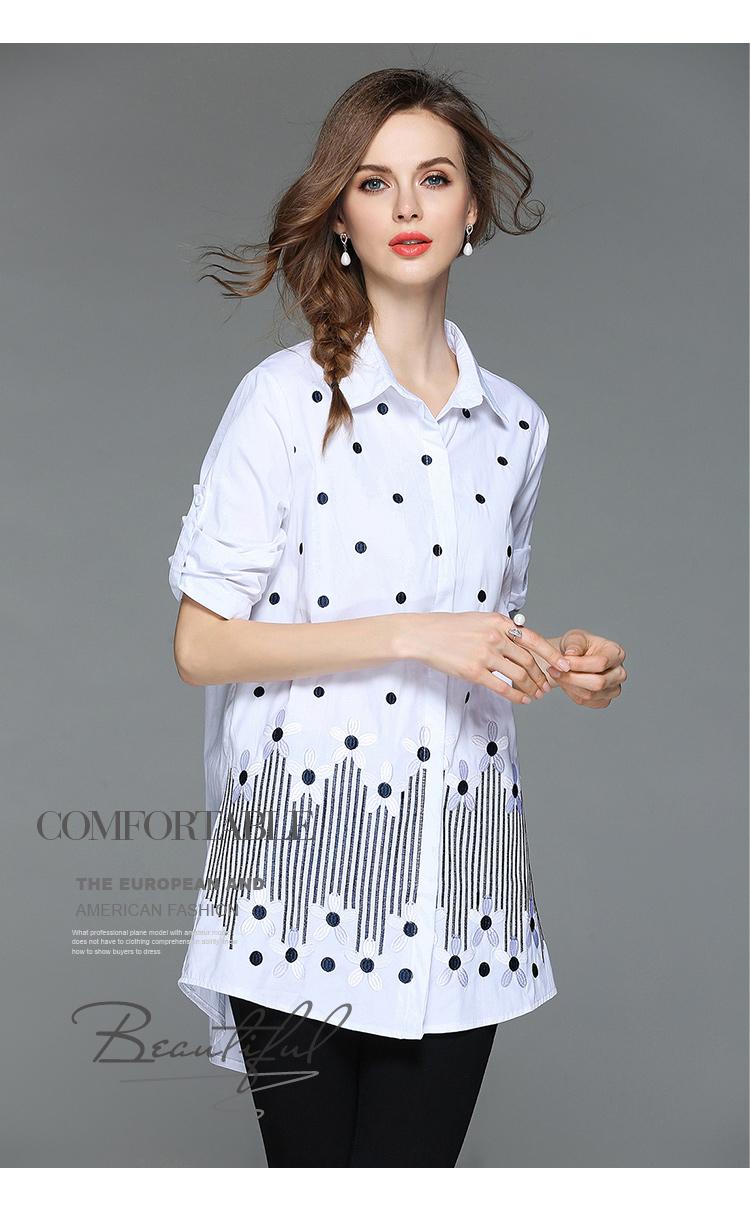 4decfbf95a Pájaro bordado con cuentas las mujeres blusa Tops Blusas De Mujer De Moda  2019 De manga larga gris camisa De terciopelo Ropa De Mujer K3263USD  21.97 piece