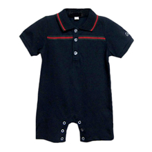 Hot sale 2 pcs 216 Summer France Newborn baby rompers set fashion baby boy Romper and hat set  New born baby jumpsuit clothes
