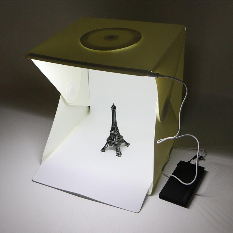 16 Light Room Photo Studio Photography Lighting Tent Kit Backdrop Cubic Mini Box