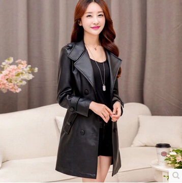 Online Get Cheap Long Leather Coat -Aliexpress.com | Alibaba Group