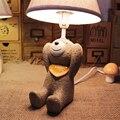 Высокое Качество Декоративной Дети Светодиодные Настольные Лампы E14 110 В-220 В Детская Комната Переключатель Настольные Светильники Исследование Светодиодная Лампа для чтения