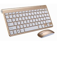2018 Ultra Slim 2 4G Wireless Mini Keyboard K116 With Mouse For MACBOOK LAPTOP TV BOX