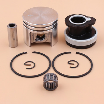 38mm Piston Rings Bearing Intake Manifold For STIHL 018 MS180 Chainsaw Spare Parts #1130 030 2004 chainsaw parts clutch for 018 ms180 chain saw