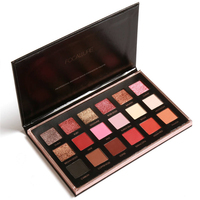 FOCALLURE Brand Makeup Palette 18 Colors Shimmer Matte Pigment Eye Shadow Cosmetics Naked Smoky Glitter Eyeshadow