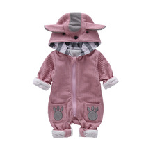 VTOM Autumn New Baby Rompers Kids Long-Sleeved Clothing Newborn Jumpsuit Outfits Clothes For Girs And Boys