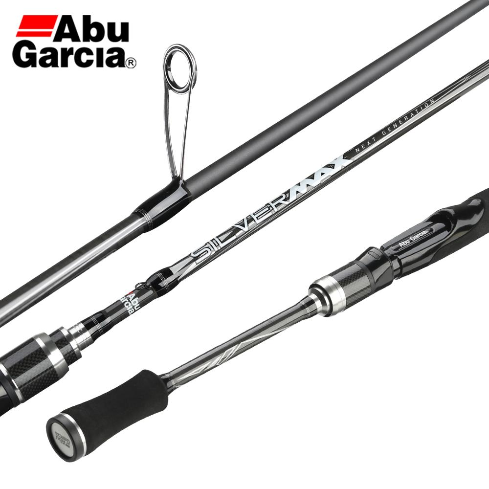 Fishing-Rod Lure Carbon-Spinning Long-Casting Abu Garcia Power 2-Segments-M SILVER Max-Smax