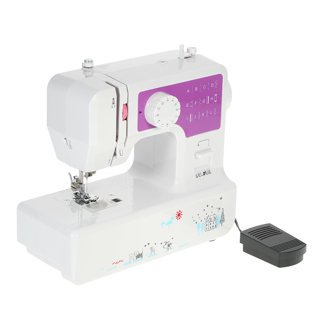 Electric Pedal Sewing Machine 40 Speed 140 Stitches Sewing Machine Gorgeous Buttonhole Sewing Machine