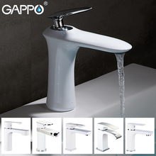 купить GAPPO Basin Faucets white waterfall bath water taps brass basin sink faucet mixers deck mounted bathroom faucet mixers по цене 5599.98 рублей