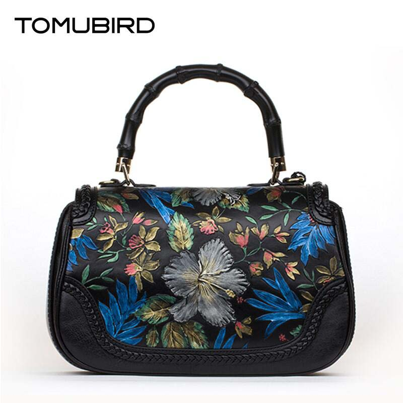 Cow leather handbag  free delivery  Chinese style embossed shoulder messenger bag National Wind Pandora package Hand bag cow leather handbag free delivery tomubird 2017 new leather women wallet national wind hand bag embossed envelopes