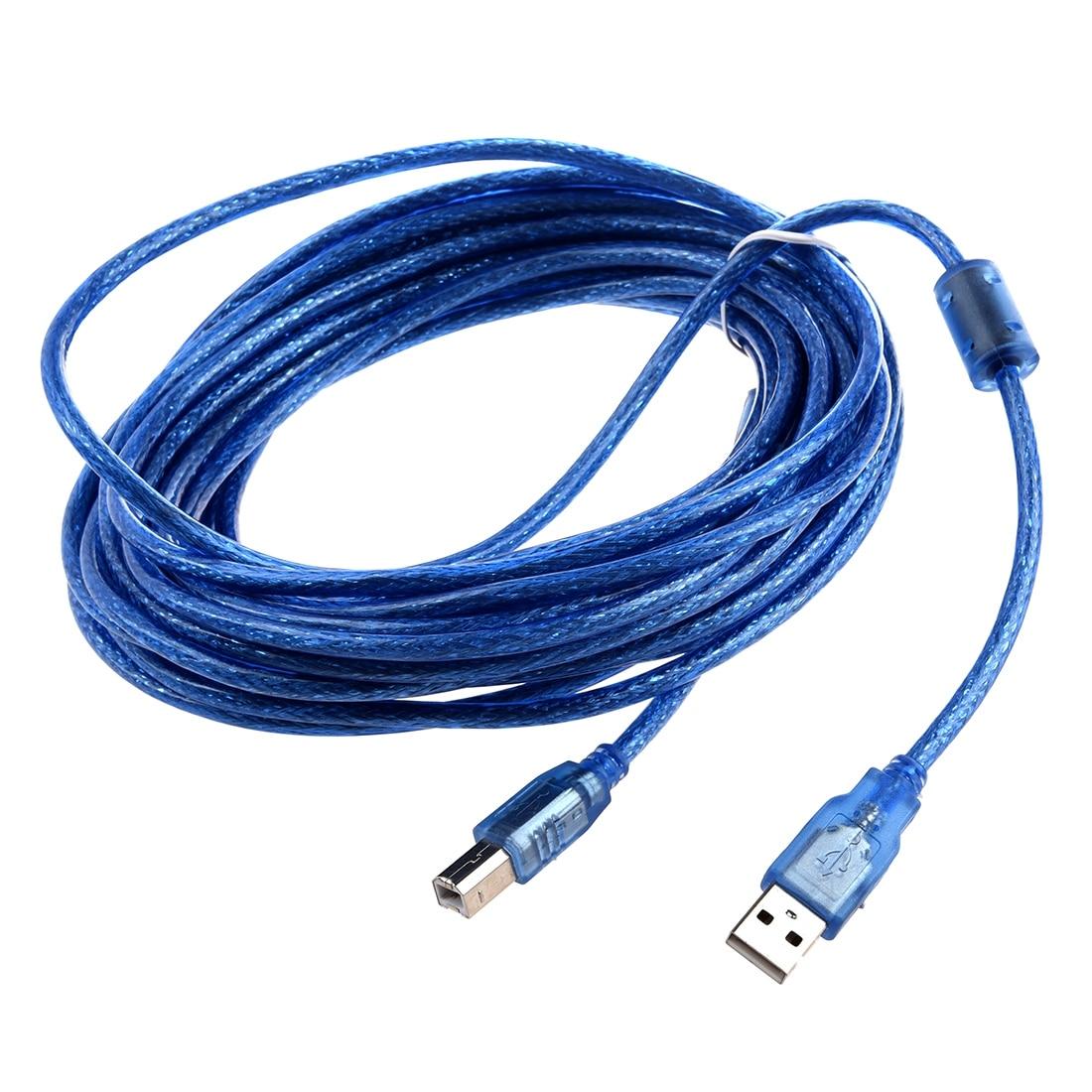 SUPERIOR Da Impressora Cabo de Extensão USB, USB B Macho Os-Comprimento 10 m