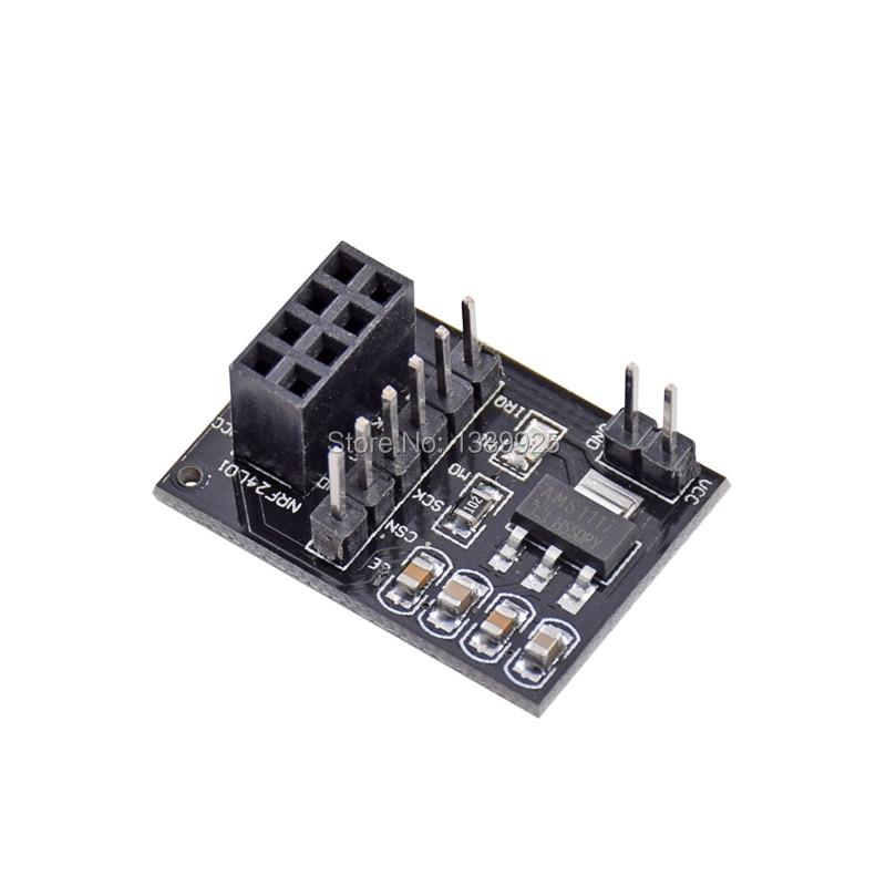 1PCS Wireless Module Adapter Board 3.3V Supporting for Smart Car 24L01 Module
