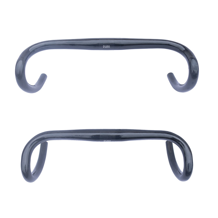 free shipping Carbon Road Handlebar bike bent bar carbon road bicycle handlebar 31.8mm* 400 420 440mm matte black 2018 road bike carbon handlebar matte glossy 3k handlebar racing cycling bicycle bent bar black reach 70 drop 100