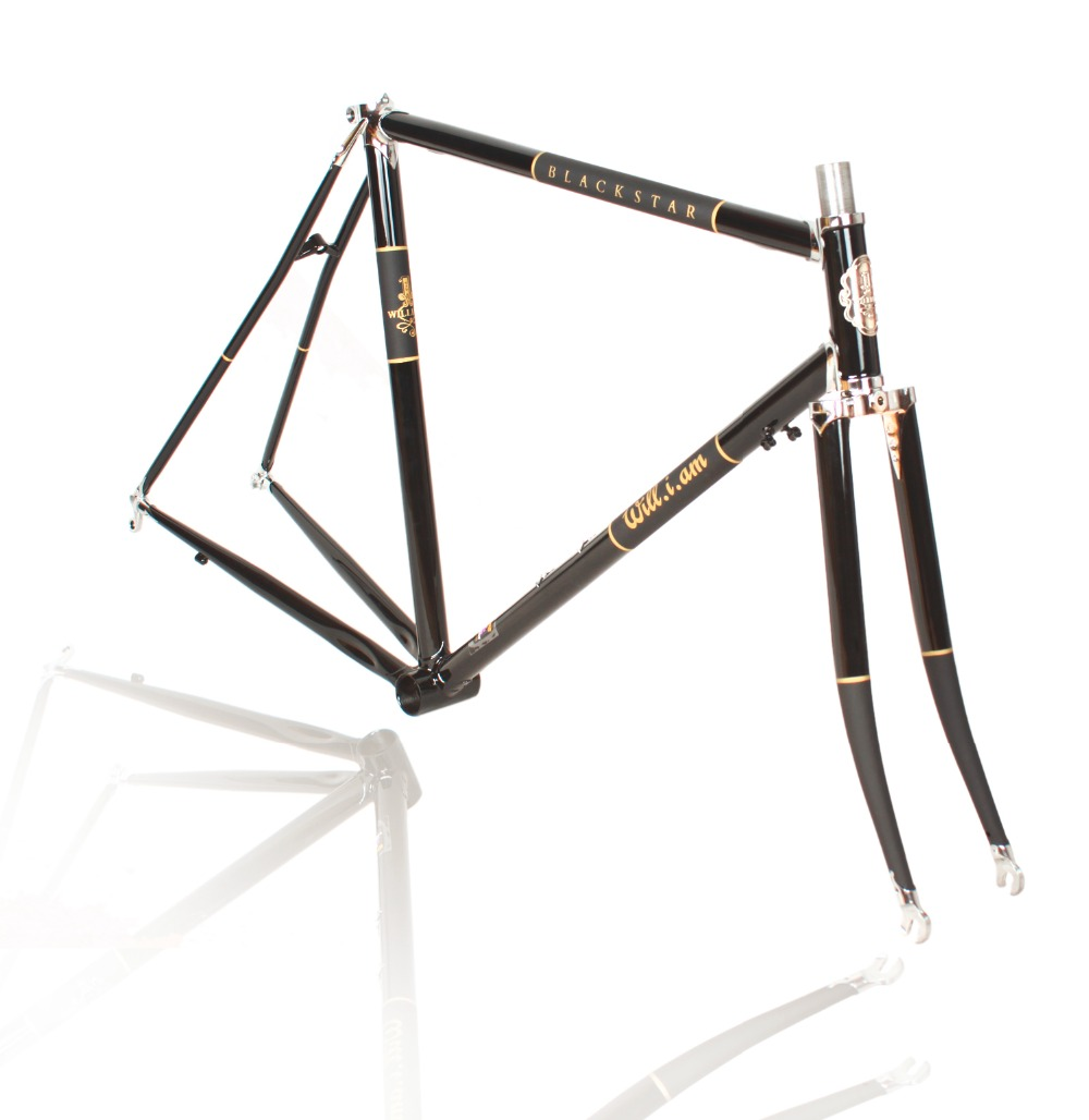 William 700C Frame Chrome Molybdenum Steel LUG 520 Road Bike Frame ...