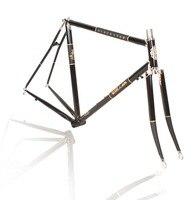 700C хром молибденовая стальная рама винтажная велосипедная шоссейная велосипедная Рама lug 520/725/4130 Reynolds настраиваемая рама