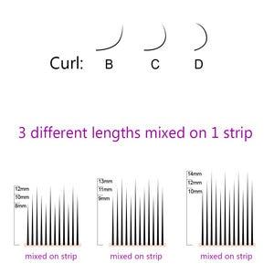 Image 5 - Nagaraku cílios volume cílios extensões camélia cílios pandora cílios maquiagem vison cílios 3d ciios maquiagem cílios