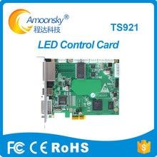 Linsn envio de cartão TS921 linsn enviar box trabalhar com mrv366 supprot cartão de recebimento para o processador de vídeo LEVOU palco led vídeo tela